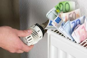 Radiador con válvula termostática