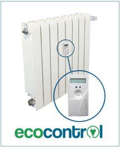 repartidor de costes en radiador